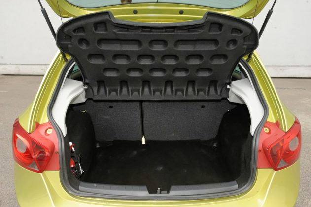 Używany Seat Ibiza IV - bagażnik