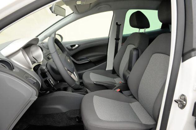 Seat Ibiza IV - fotel kierowcy