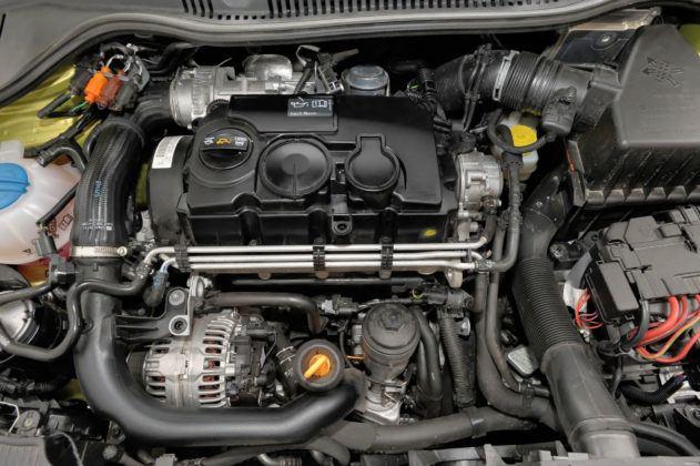 Używany Seat Ibiza IV - silnik