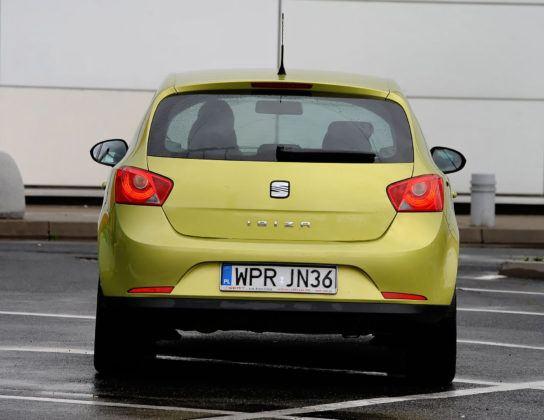 Używany Seat Ibiza IV - tył
