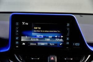 Toyota C-HR - wyświetlacz, radio