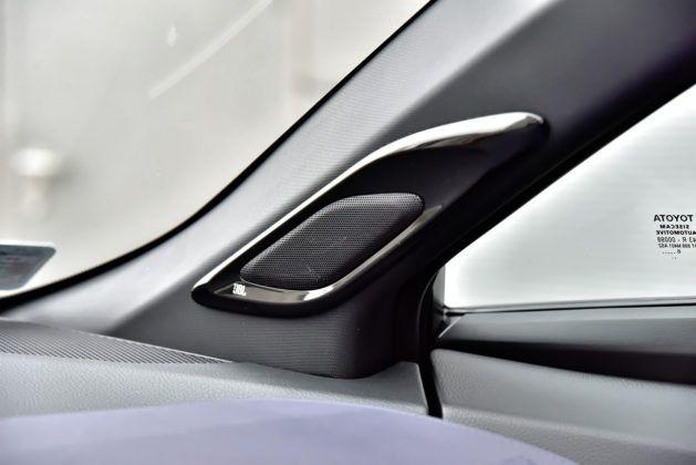 Toyota C-HR 1.2 Turbo - głośniki JBL dostępne za dopłatą
