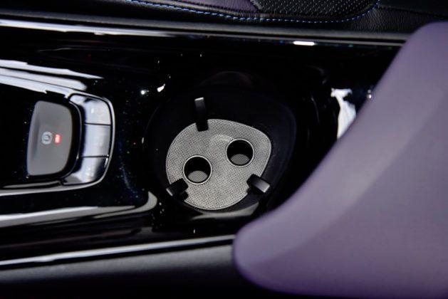 Toyota C-HR 1.2 Turbo - wkładka w pojemniku na kubki