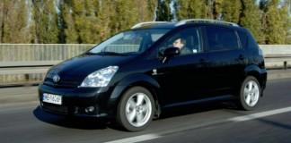 Toyota Corolla Verso - otwierające