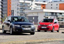 Audi A4 vs Skoda Citigo