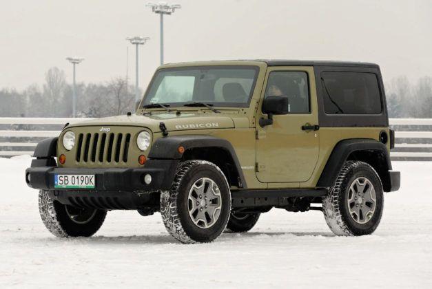 Droga hamowania - najgorszy - Jeep Wrangler
