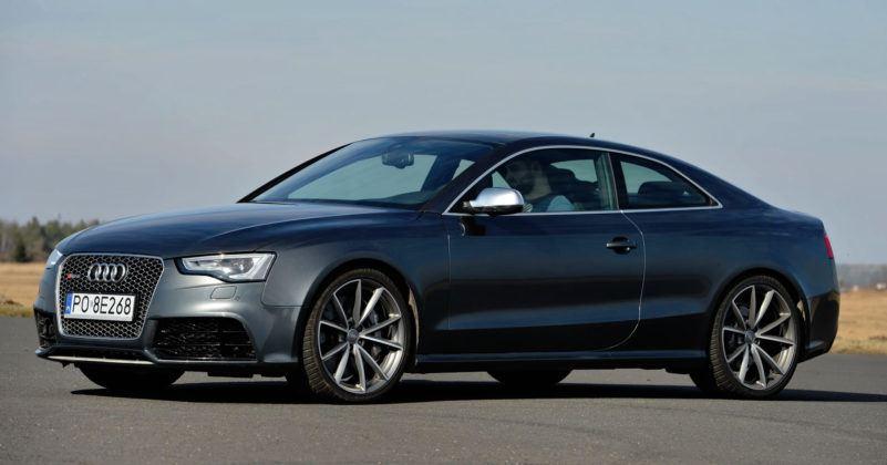 Droga hamowania - najlepszy - Audi RS5