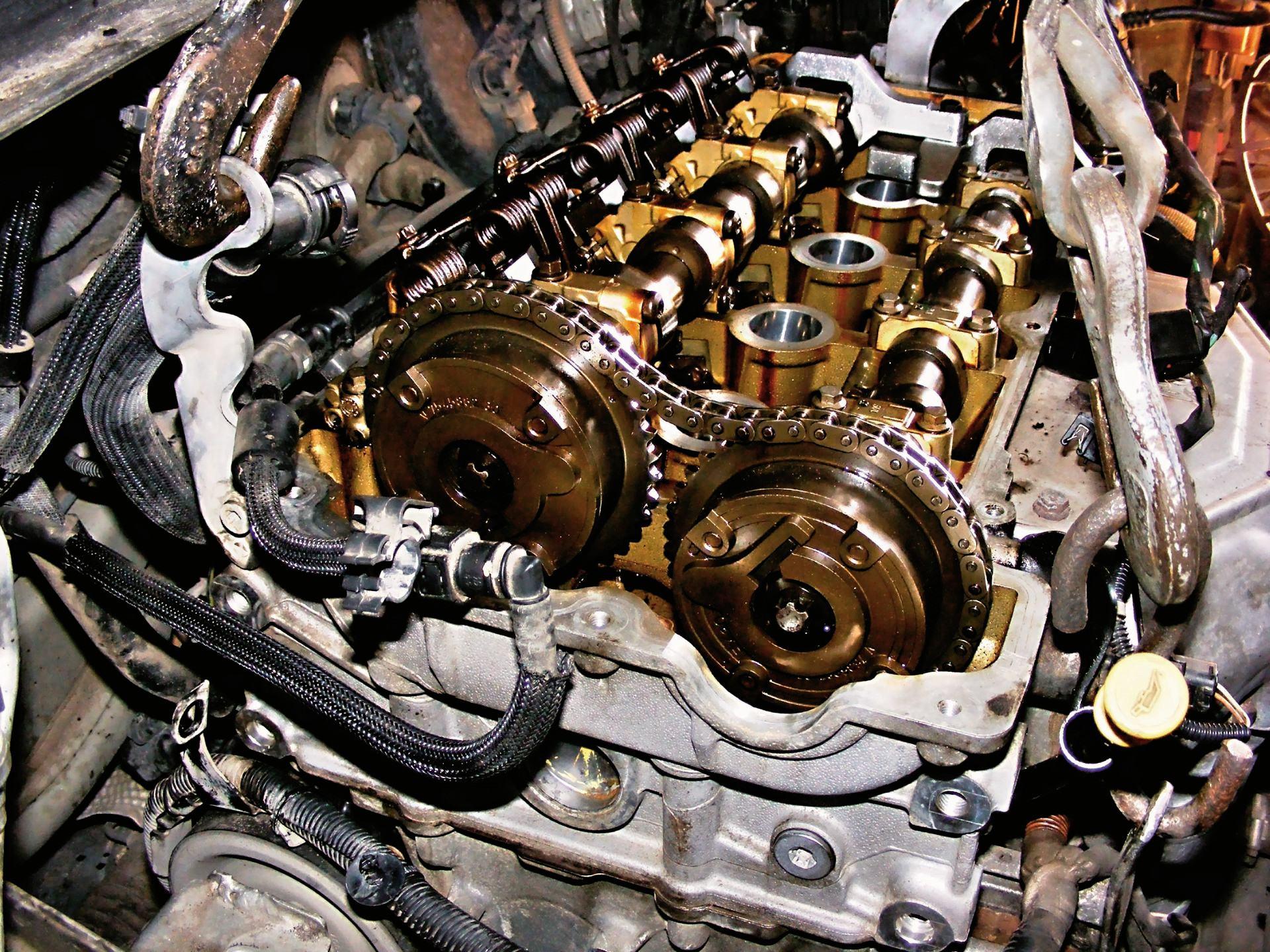 Awarie rozrządów w silnikach 1.6 THP