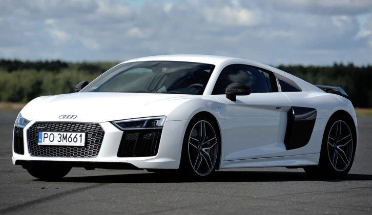 Przyspieszenie - najlepszy - Audi R8