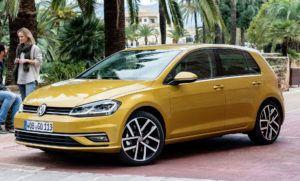 Auta kompaktowe - bestseller - Volkswagen Golf