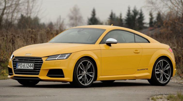 Auta sportowe - najlepszy - Audi TT