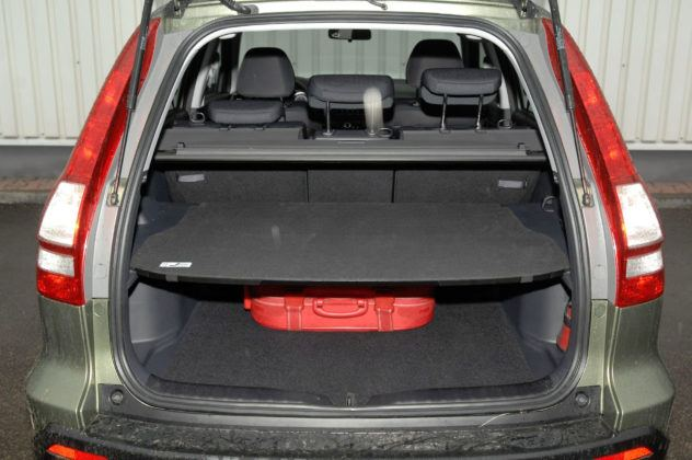 Honda CR-V III - bagażnik