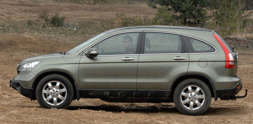 Honda CR-V III - bok