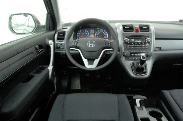 Honda CR-V III - deska rozdzielcza