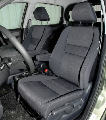 Honda CR-V III - fotel kierowcy
