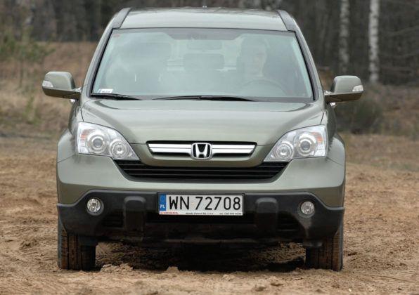 Honda CR-V III - przód