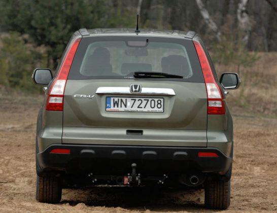 Honda CR-V III - tył