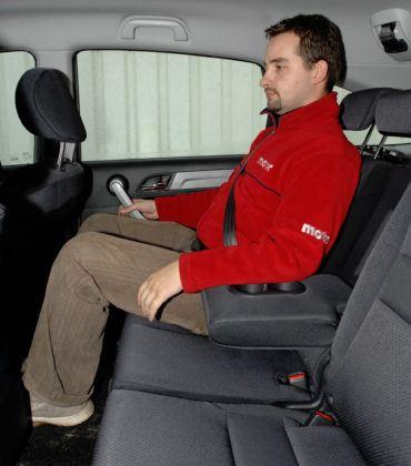 Honda CR-V III - tylna kanapa