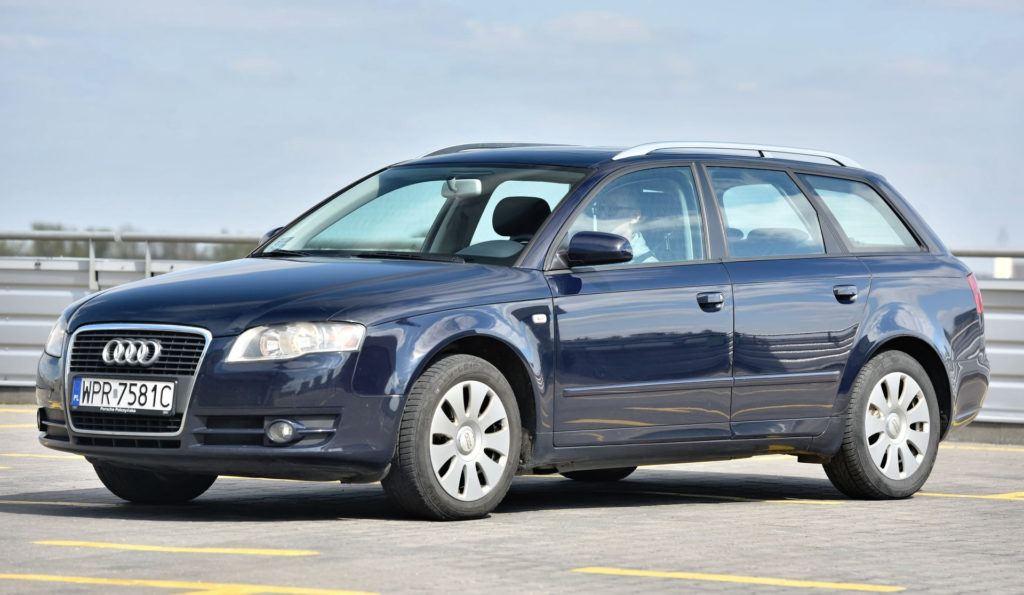 Klasa średnia - miejsce 1 - Audi A4