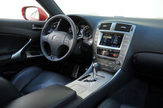 LEXUS IS F II 5.0 V8 423KM 8AT WE3422N 12-2008