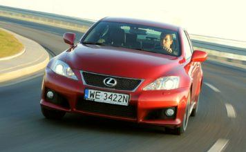 LEXUS IS F II 5.0 V8 423KM 8AT WE3422N 12-2008