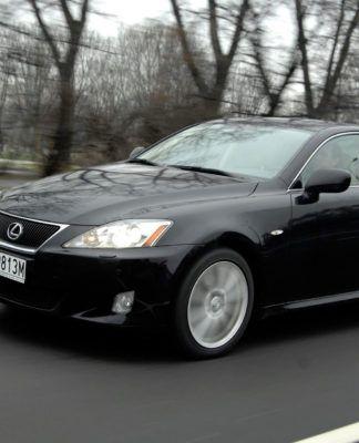 Lexus IS - otwierające