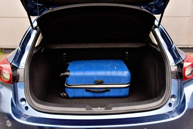 Mazda 3 - bagaznik