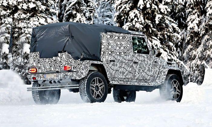 Mercedes Klasy G Pick-up