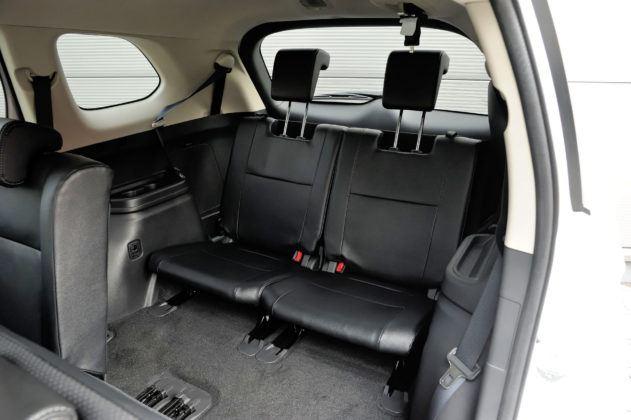 Mitsubishi Outlander - 3. rząd