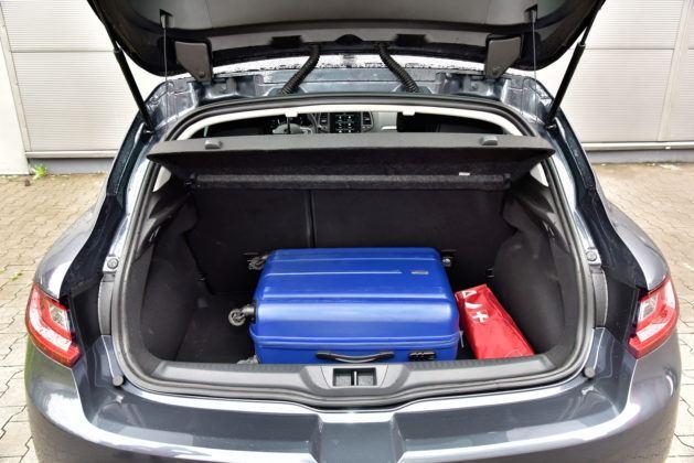 Renault Megane - bagażnik