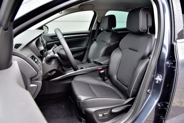 Renault Megane - fotel kierowcy