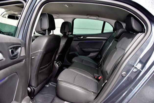 Renault Megane - tylna kanapa