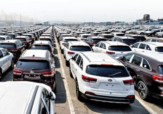 Sprzedaż aut w 2016 roku