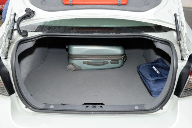 Volvo S40 - bagażnik