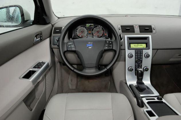 Volvo S40 - deska rozdzielcza