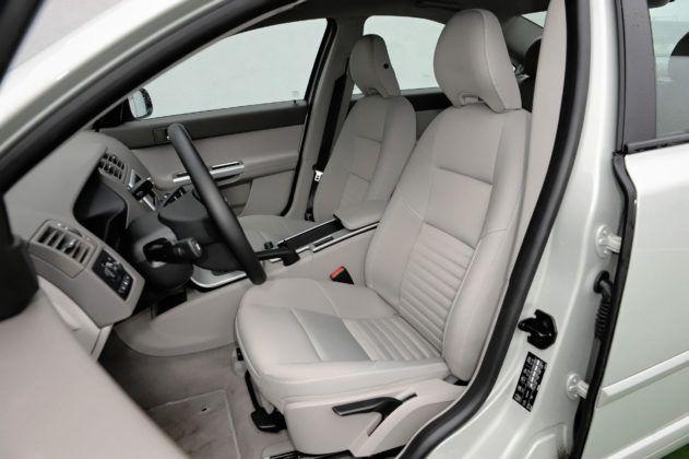Volvo S40 - fotel kierowcy