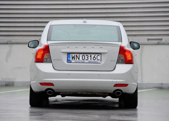 Volvo S40 - tył