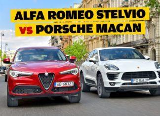 Alfa Romeo Stelvio, Porsche Macan