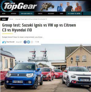 Citroen C3 kontra Hyundai i10, Suzuki Ignis i VW Up!