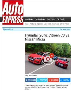 Citroen C3 1.2 PT 110 kontra Hyundai i20 1.0 T-GDI i Nissan Micra 0.9 IG-T