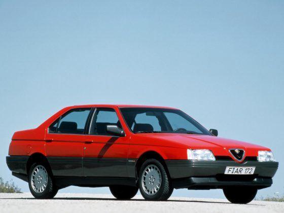 Alfa Romeo 164 - przód