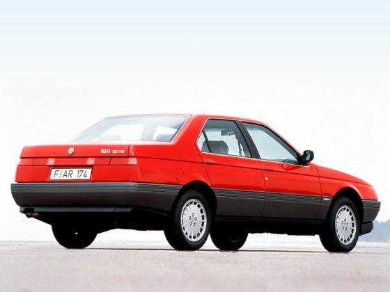 Alfa Romeo 164 - tył