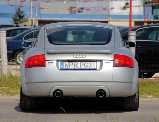 Audi TT I - tył