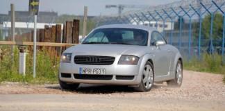 Audi TT - otwierające