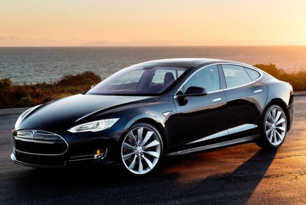 Auta elektryczne - najlepszy - Tesla Model S