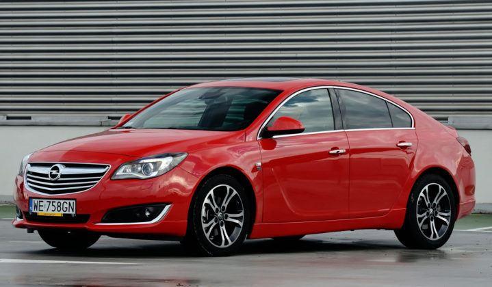 Auta klasy średniej - najlepszy - Opel Insignia