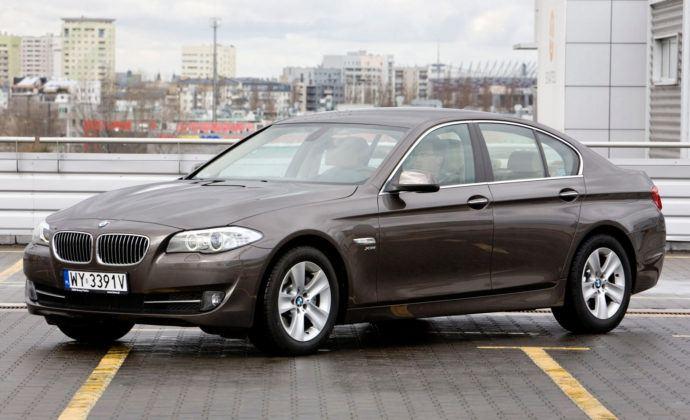 Auta klasy wyższej - najgorszy - BMW serii 5