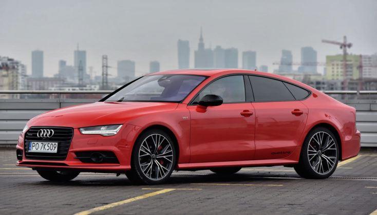 Auta klasy wyższej - najlepszy - Audi A7