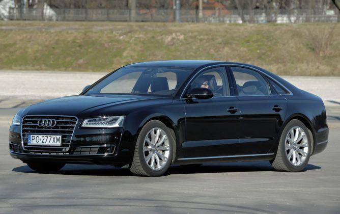 Auta luksusowe - najgorszy - Audi A8