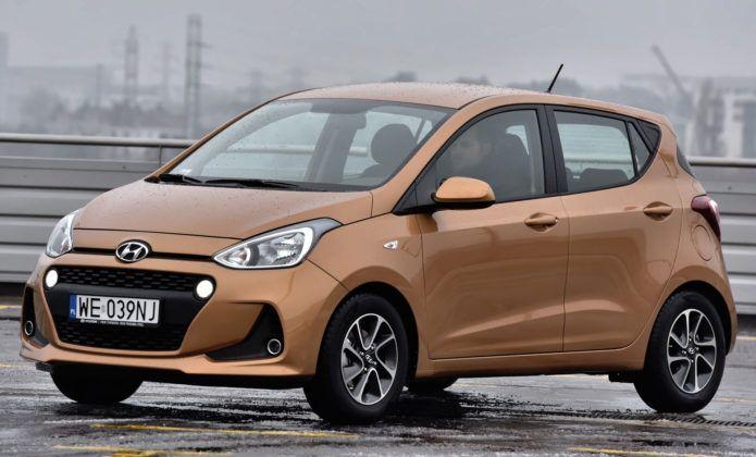 Auta małe - najlepszy - Hyundai i10